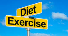 diet exercise sign