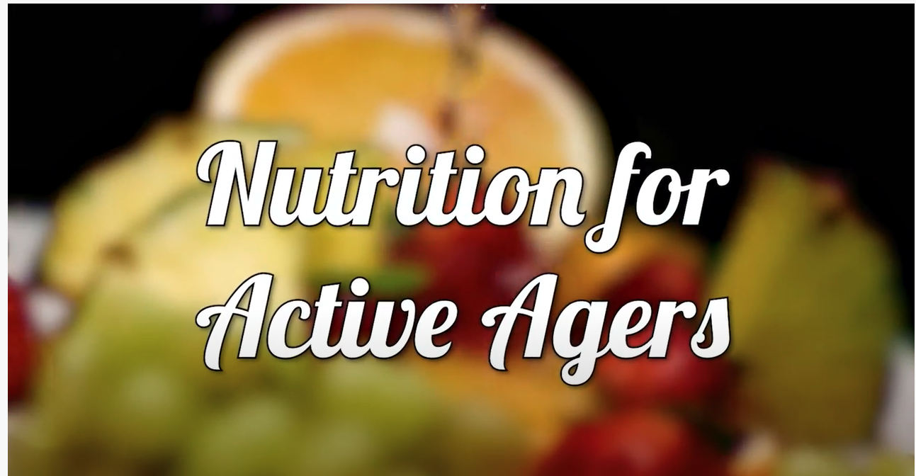Nutrition for Active Agers Promo video