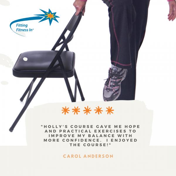 Testimonial from Carol Anderson