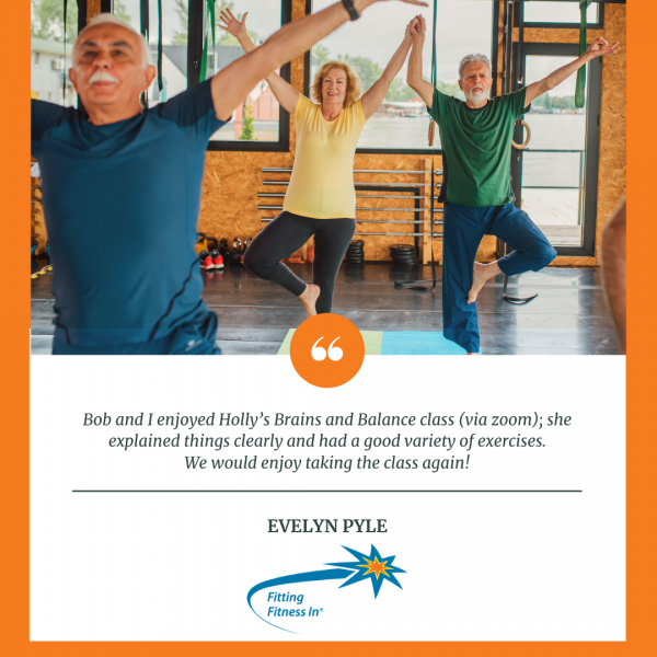 Testimonial from Evelyn Pyle