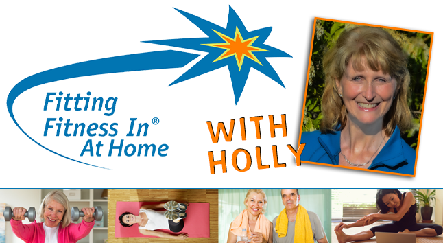 Fitting Fitness in At Home with Holly