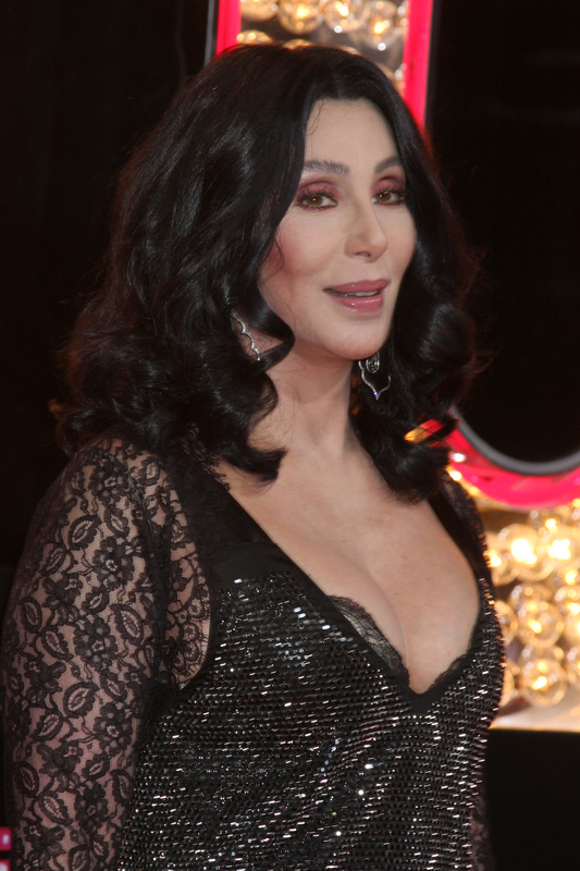 Image of Cher at age 75